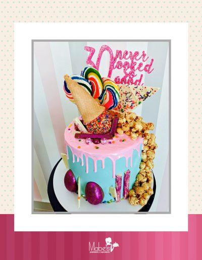 Cumpleaños 30 de dulces