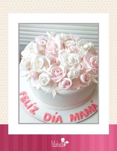 Día de las madres rosas